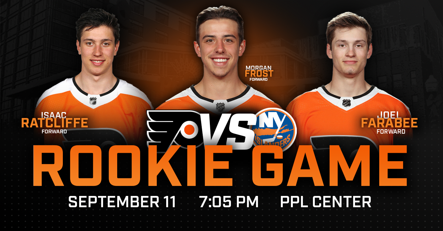 037833652a2 PPL Center to Host 2019 Flyers vs. Islanders Rookie Game - Lehigh ...