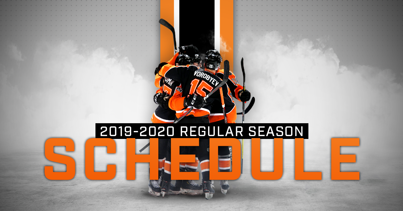 image relating to Washington Capitals Schedule Printable titled Phantoms Announce 2019-20 Month-to-month Time Routine - Lehigh