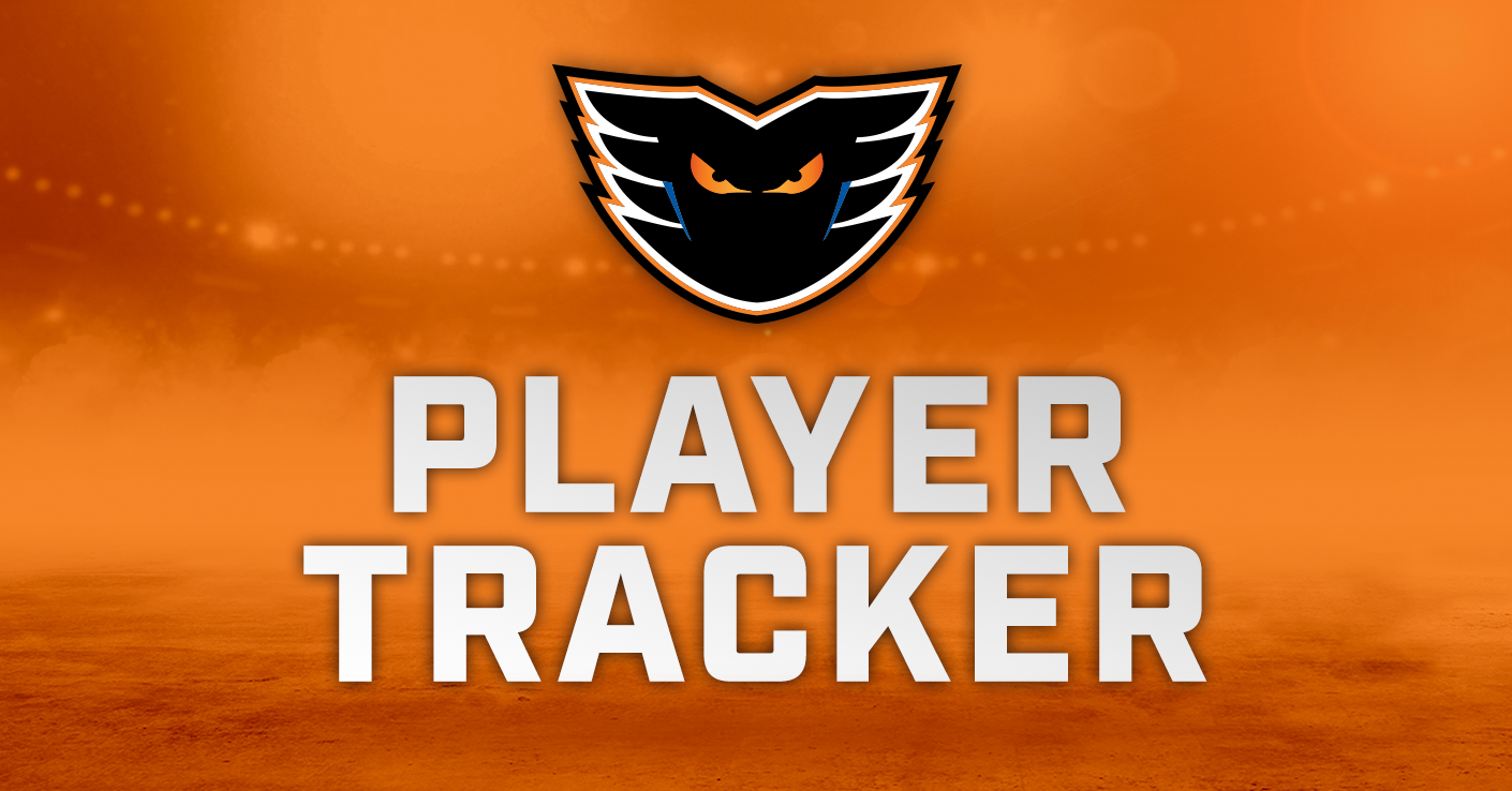 Lehigh Valley Phantoms 2019-20 Player Tracker