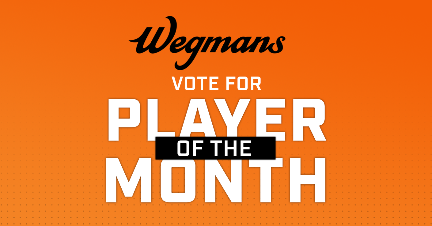Wegmans Player of the Month Vote
