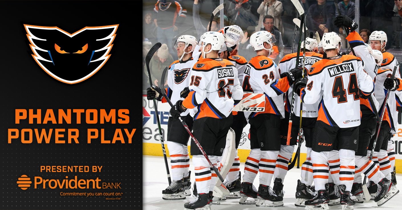 Phantoms Power Play – Presented by Provident Bank (11/12)