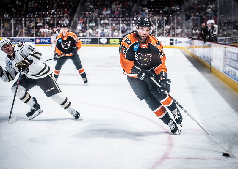 Phantoms Snag Standings Point as Frost Scores Again