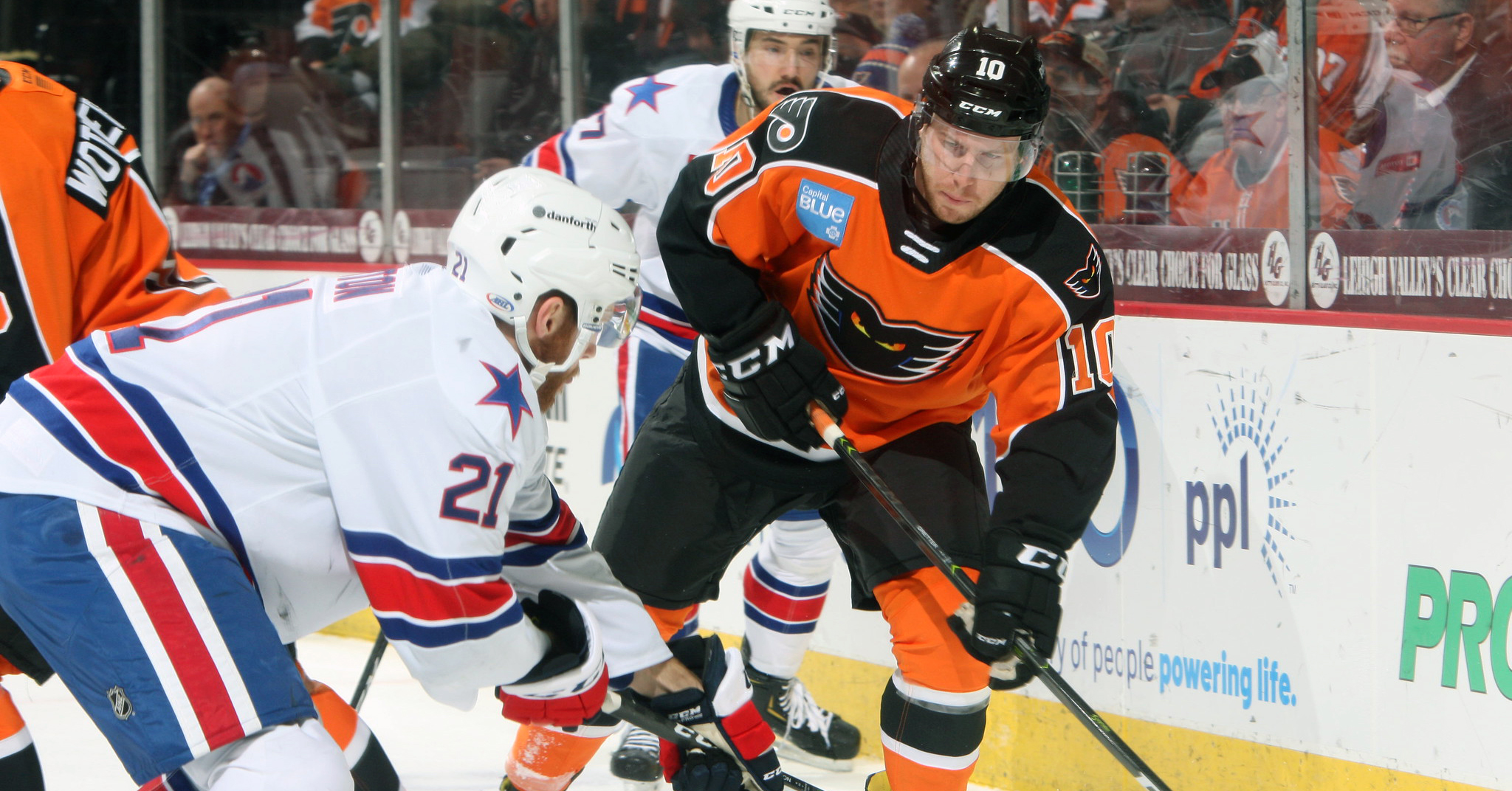 Carey Scores His 100th Goal with Lehigh Valley in 4-0 Win