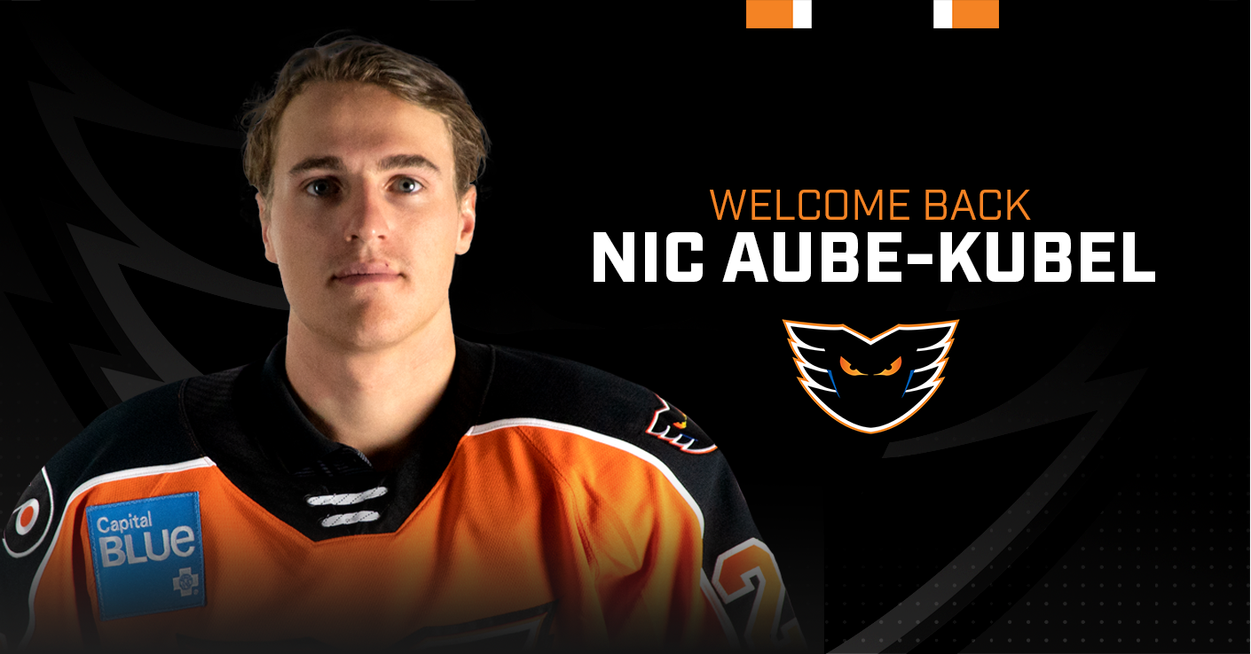 Flyers Sign Nicolas Aube-Kubel to a Two-Year Contract Extension