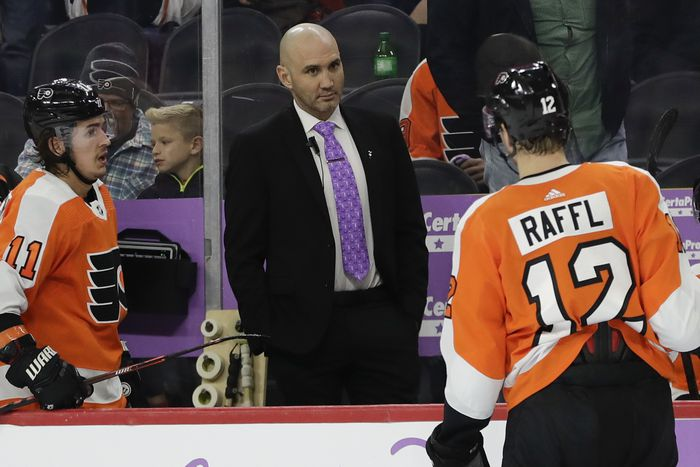 Inquirer: A fearless Flyers player, Ian Laperriere will carry his parents' work ethic into his job as Phantoms head coach