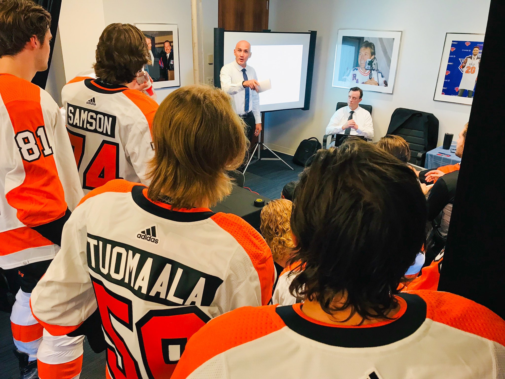 Phantoms Products Thrive in Flyers Rookie Game